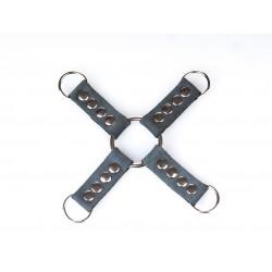 Łącznik X D-Ring Bruised Grey