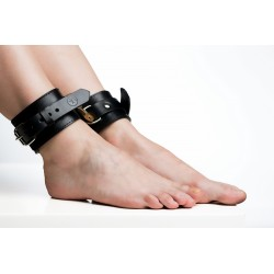 Leg cuffs Double Black
